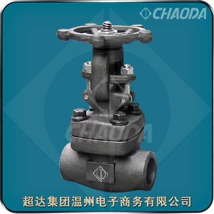 承插焊连接锻钢闸阀